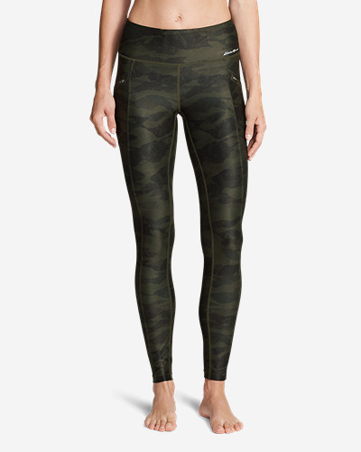 Women's Trail Tight Leggings   Printed by Eddie Bauer