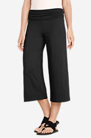 Stretch Capri Pants for Women: Women's Aster Cropped Pants