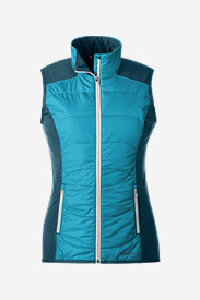 Blue Plus Size Vests for Women: Women's IgniteLite Hybrid Vest