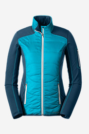 Blue Jackets: Women's IgniteLite Hybrid Jacket
