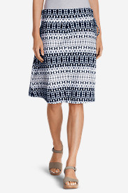 Plus Size Dresses for Women: Women's Aster Convertible Dress To Skirt - Print