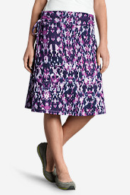 Purple Skirts for Women: Women's Aster Convertible Dress To Skirt - Print