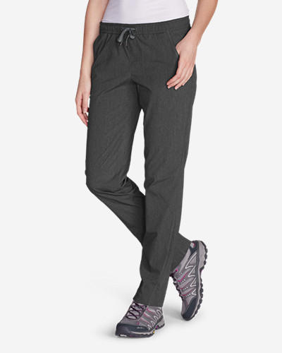 Relaxed Fit Plus Size Pants for Women: Women's Horizon Pull-On Pants