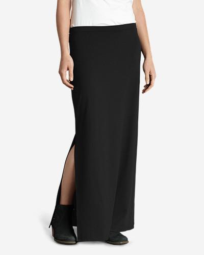 Women's Aster Maxi Skirt - Solid