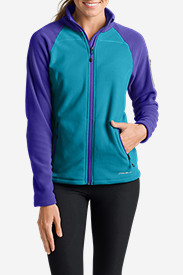 Women's Cloud Layer Pro Fleece Full-Zip Jacket - Color-Blocked