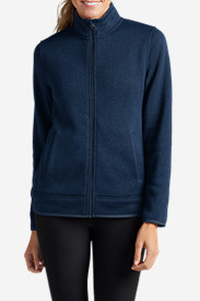 Blue Jackets: Women's Radiator Full-Zip Jacket