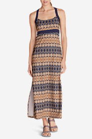 Maxi Dresses for Women: Women's Aster Maxi Dress - Print