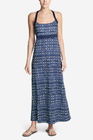 Women's Aster Maxi Dress - Print