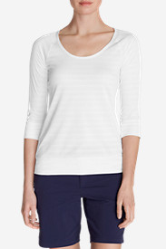 Comfortable Tops for Women: Women's Outbound 3/4-Sleeve Top