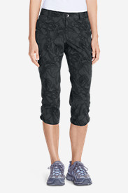 Capris Pants for Women: Women's Horizon Capris - Print