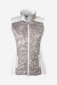 Insulated Tops for Women: Women's IgniteLite Hybrid Vest - Print