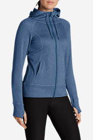 Blue Jackets: Women's Big Climb Hoodie