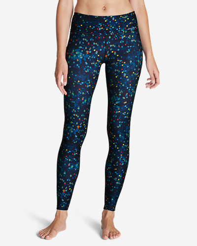 Eddie Bauer Movement Leggings - Stardust Print