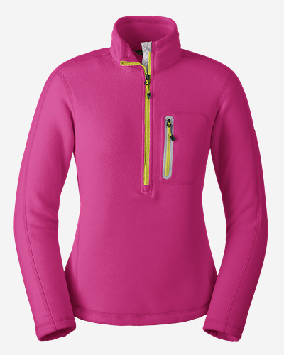 Pink Petite Pullovers for Women: Women's Cloud Layer Pro 1/4-Zip Pullover