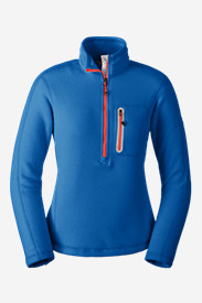 Blue Petite Pullovers for Women: Women's Cloud Layer Pro 1/4-Zip Pullover