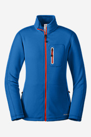 Blue Petite Outerwear for Women: Women's Cloud Layer Pro Full-Zip Jacket