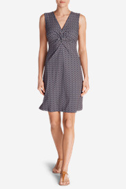 Women's Aster Tie The Knot Dress - Print