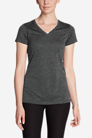 Gray Plus Size Tshirts for Women: Women's Resolution V-Neck T-Shirt