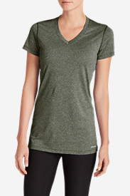 Green Plus Size Tshirts for Women: Women's Resolution V-Neck T-Shirt
