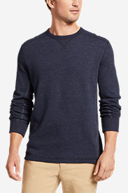 Blue Shirts for Men: Men's Eddie's Favorite Thermal Crew Shirt