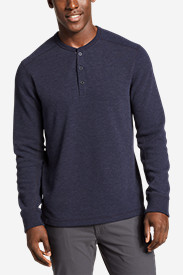 Blue Shirts for Men: Men's Eddie's Favorite Thermal Henley Shirt