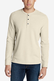Comfortable Shirts for Men: Men's Eddie's Favorite Thermal Henley Shirt
