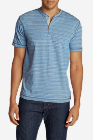 Henley Shirts for Men: Men's River Run Short-Sleeve Henley Shirt