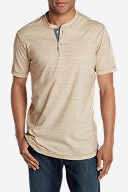 Men's River Run Short-Sleeve Henley Shirt