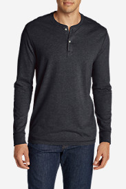 Blue Shirts for Men: Men's Legend Wash Henley Shirt