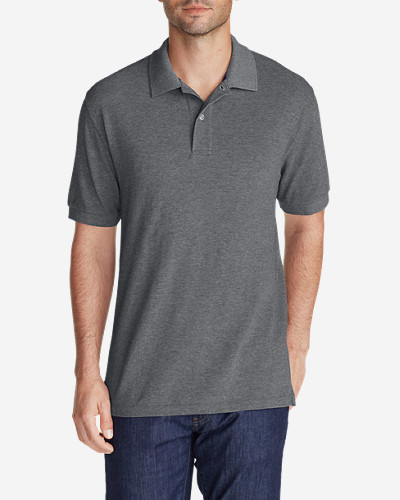 Collared Polo Shirts for Men: Men's Field Short-Sleeve Polo Shirt