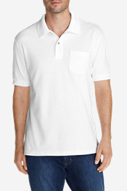 Big & Tall Shirts for Men: Men's Field Short-Sleeve Pocket Polo Shirt