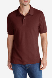 Brown Polo Shirts for Men: Men's Field Short-Sleeve Polo Shirt - Slim Fit