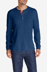 Men's Basin Double-Knit Henley