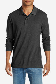 Men's Field Long-Sleeve Polo Shirt