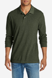 Big & Tall Shirts for Men: Men's Field Long-Sleeve Polo Shirt