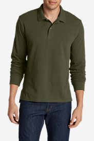Long Sleeve Shirts for Men: Men's Field Long-Sleeve Polo Shirt