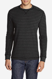 Men's Eddie's Favorite Thermal Crew - Stripe