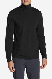 Black Shirts for Men: Men's Lookout Turtleneck