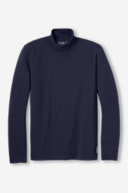 Blue Shirts for Men: Men's Lookout Turtleneck