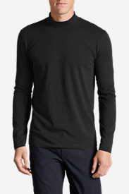 Black Shirts for Men: Men's Lookout Mockneck