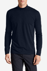 Blue T-Shirts for Men: Men's Lookout Mockneck