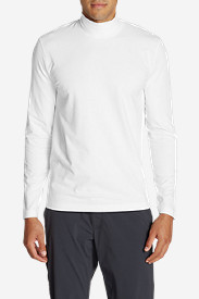 Spandex Shirts for Men: Men's Lookout Mockneck