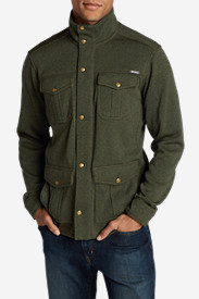 Green Jackets for Men: Men's Radiator 4-Pocket Jacket