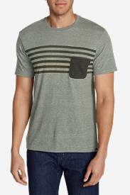 Polyester T-Shirts for Men: Men's River Run Pocket T-Shirt