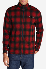 Big & Tall Jackets for Men: Men's Radiator Full-Zip Jacket - Printed