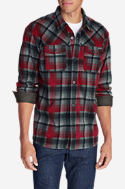 Fleece Shirts for Men: Men's Chutes Microfleece Shirt