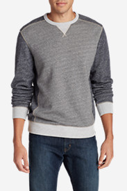 French Terry Shirts for Men: Men's Bridger Gap Long-Sleeve Crew Shirt