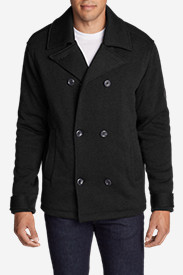 Men's Radiator Sweater Fleece Pea Coat