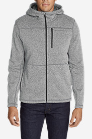 Men's Radiator Full-Zip Sherpa Fleece Hoodie