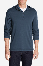 Men's Voyager Hooded Henley